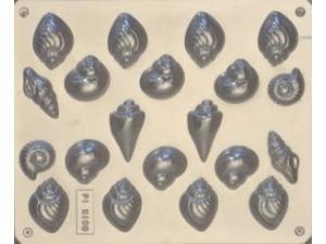 Seashells Chocolate Mould 20 Cavity