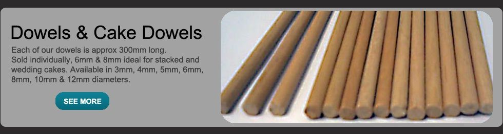 Wooden Dowels